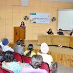 Ar. Apurva Bose Dutta addressing the audience (Pic courtesy: Rajiv Kumar, CCA)