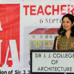 Ar. Apurva Bose Dutta addressing the audience