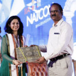 Being Felicitated for the Panel Discussion