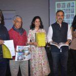 (L to R) Ar. Sanjay Mohe, Ar. Krishnarao Jaisim, Ar. Apurva Bose Dutta, Ar. Sandeep Khosla, Shyamala Prabhu (Chairperson, Indian Institute of Interior Designers - Bengaluru Chapter) (Pic courtesy: Sadanand Kulal, IIID Bengaluru)