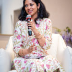 Moderating the Panel Discussion (Pic courtesy: Simply Sofas)