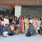 Apurva with the workshop participants and faculty at the conclusion of the workshop